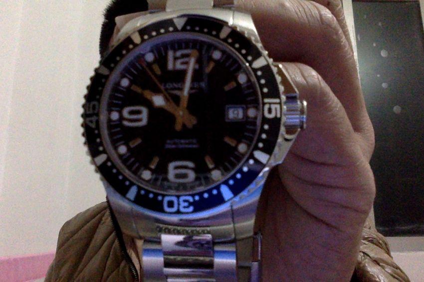 浪琴L3.641.4.56.6手表【表友晒单作业】刚刚收到,...