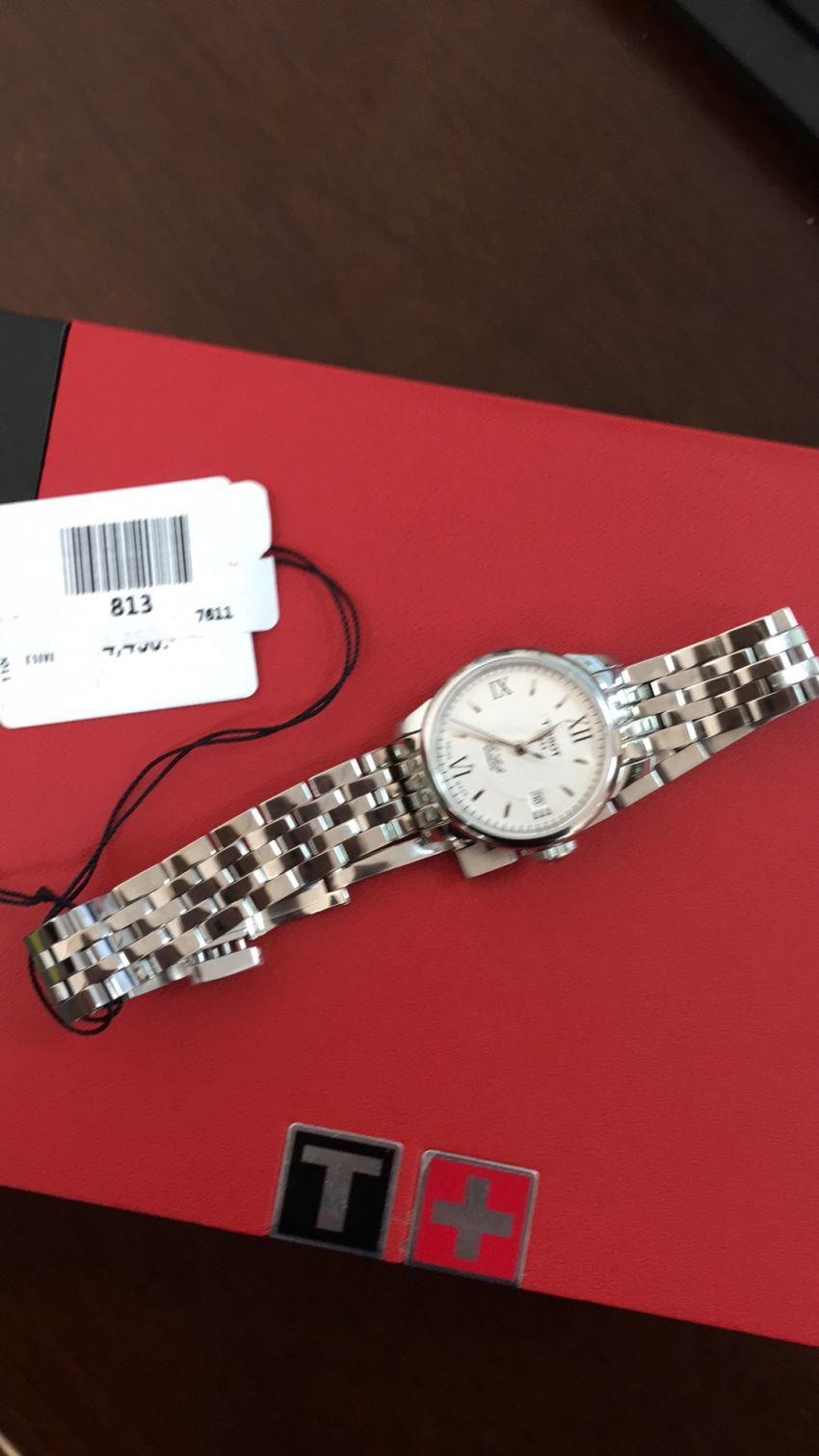 天梭T41.1.183.33手表【表友晒单作业】收到手表很...
