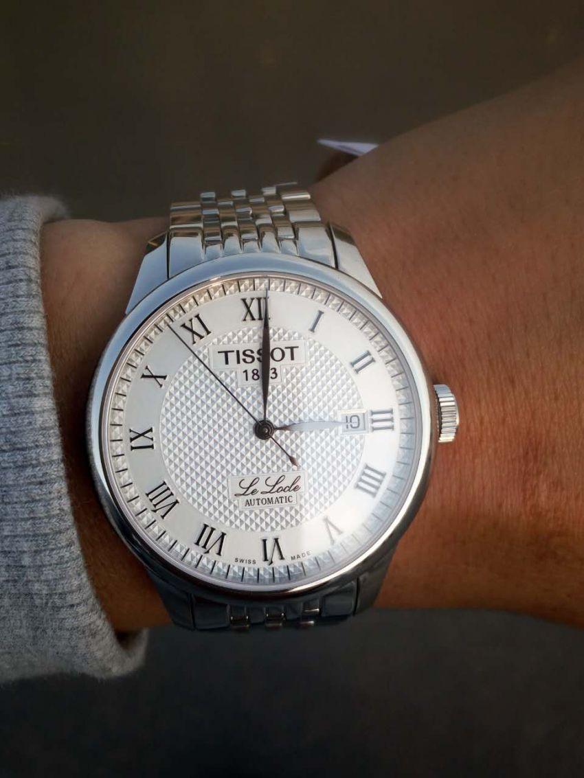 天梭T41.1.483.33手表【表友晒单作业】快递及时,...