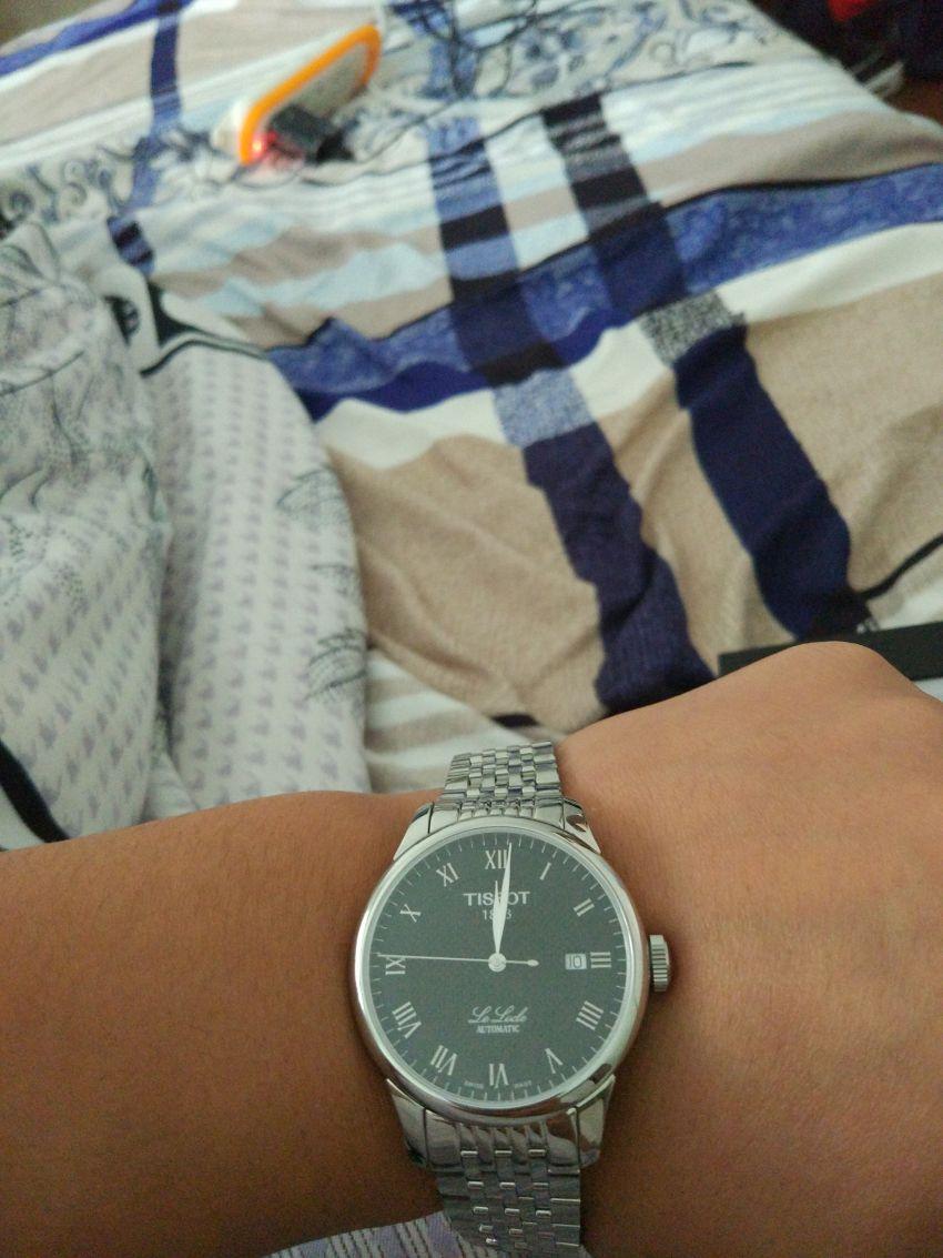 天梭T41.1.483.53手表【表友晒单作业】商品质量很...