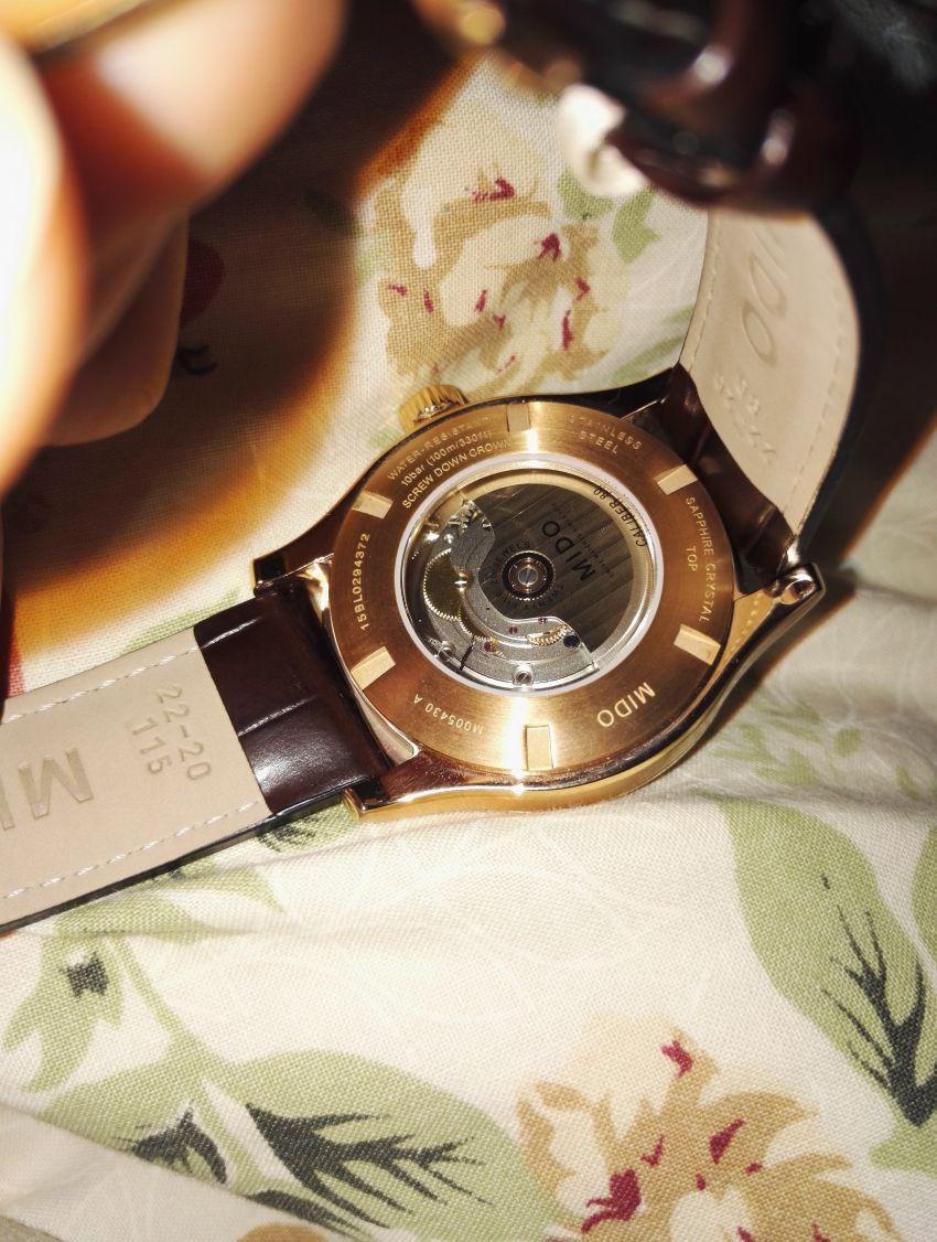 美度M005.430.36.031.80手表【表友晒单作业】这款表关注...