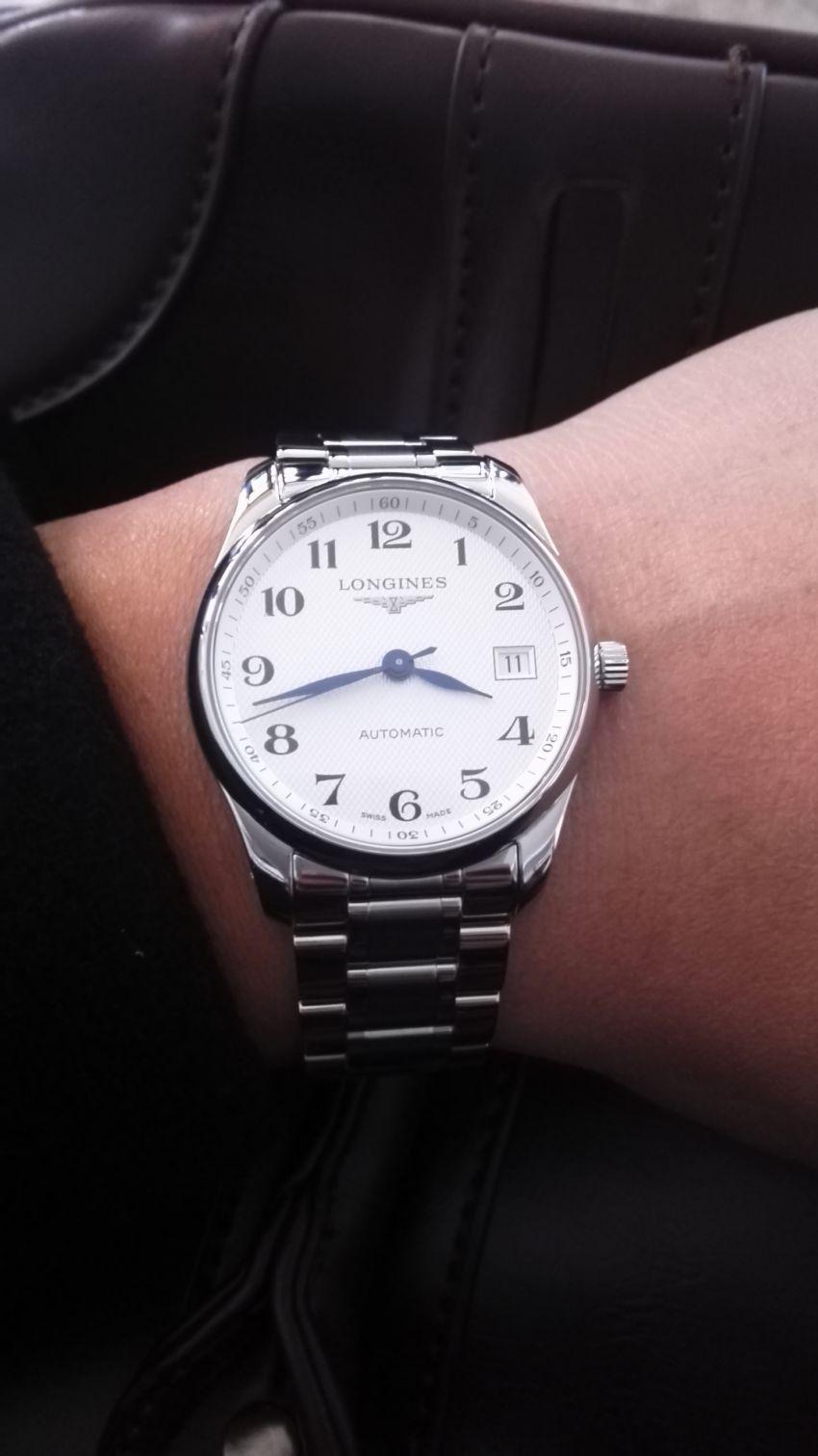 浪琴L2.518.4.78.6手表【表友晒单作业】表很漂亮,...