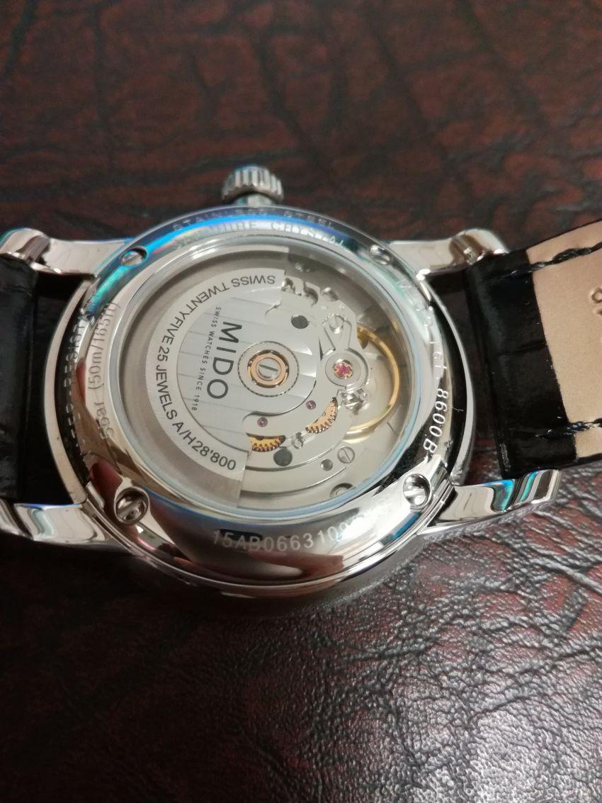 美度M8600.4.21.4手表【表友晒单作业】一直在力洛...