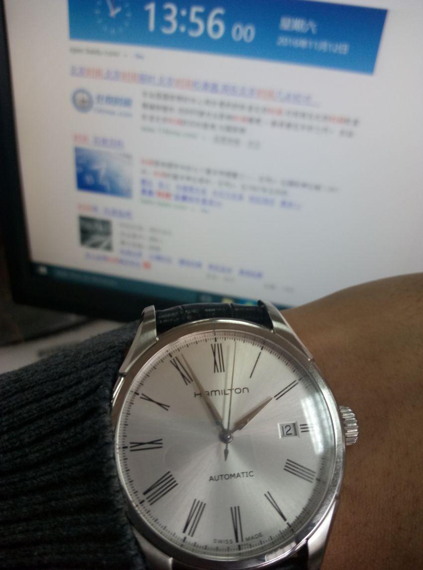 汉米尔顿H39515754手表【表友晒单作业】表带有点硬...
