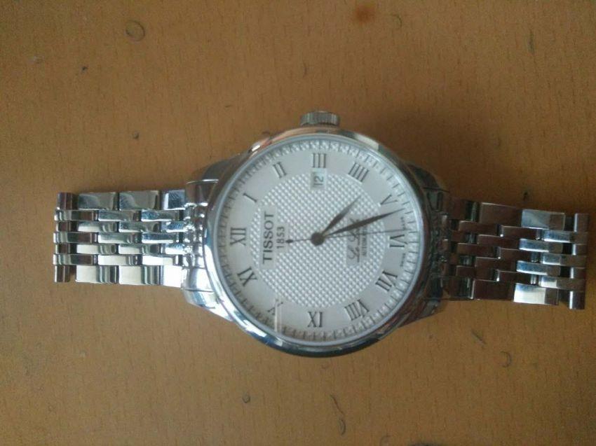 天梭T41.1.483.33手表【表友晒单作业】很大气的一...