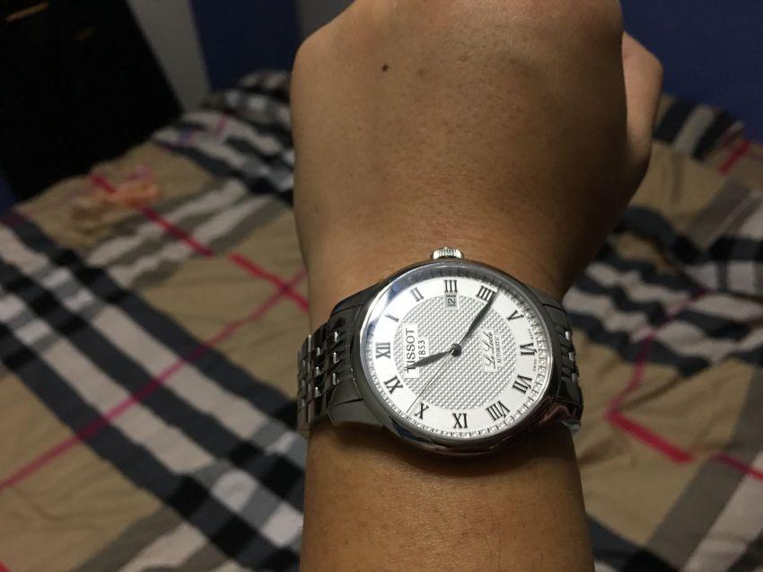 天梭T41.1.483.33手表【表友晒单作业】手表确实不...