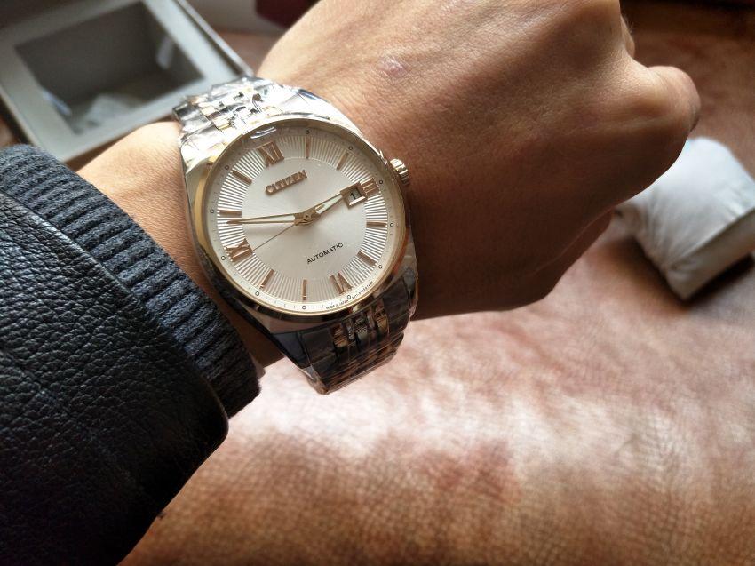 西铁城NB1024-59A手表【表友晒单作业】表,和万表...