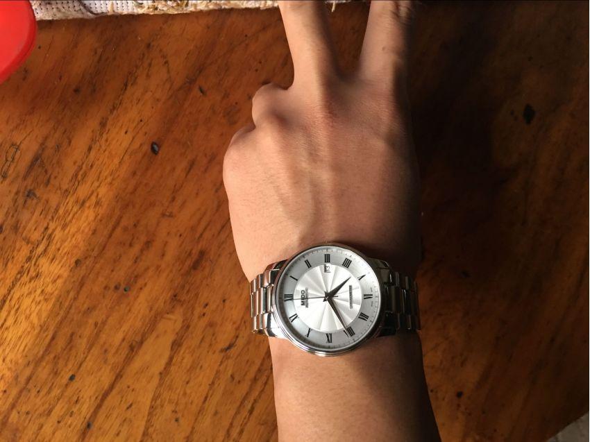 美度M010.408.11.033.00手表【表友晒单作业】这个手表很...