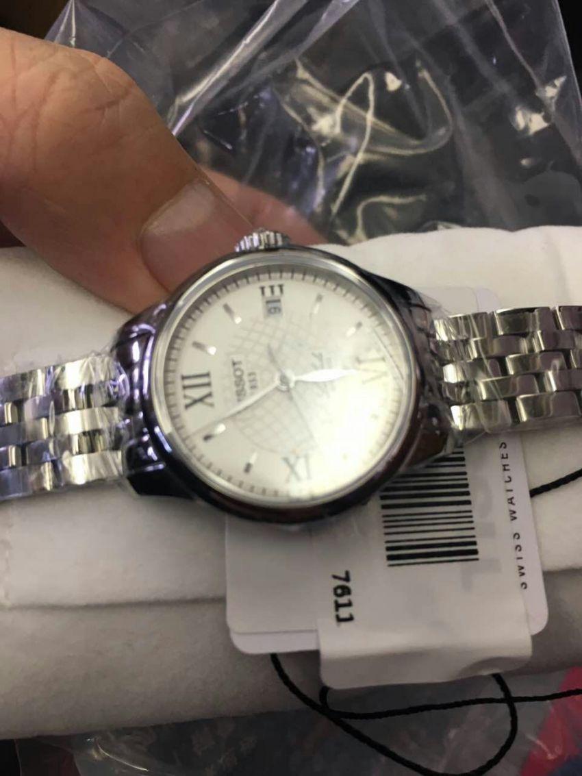 天梭T41.1.183.33手表【表友晒单作业】手表很好看...