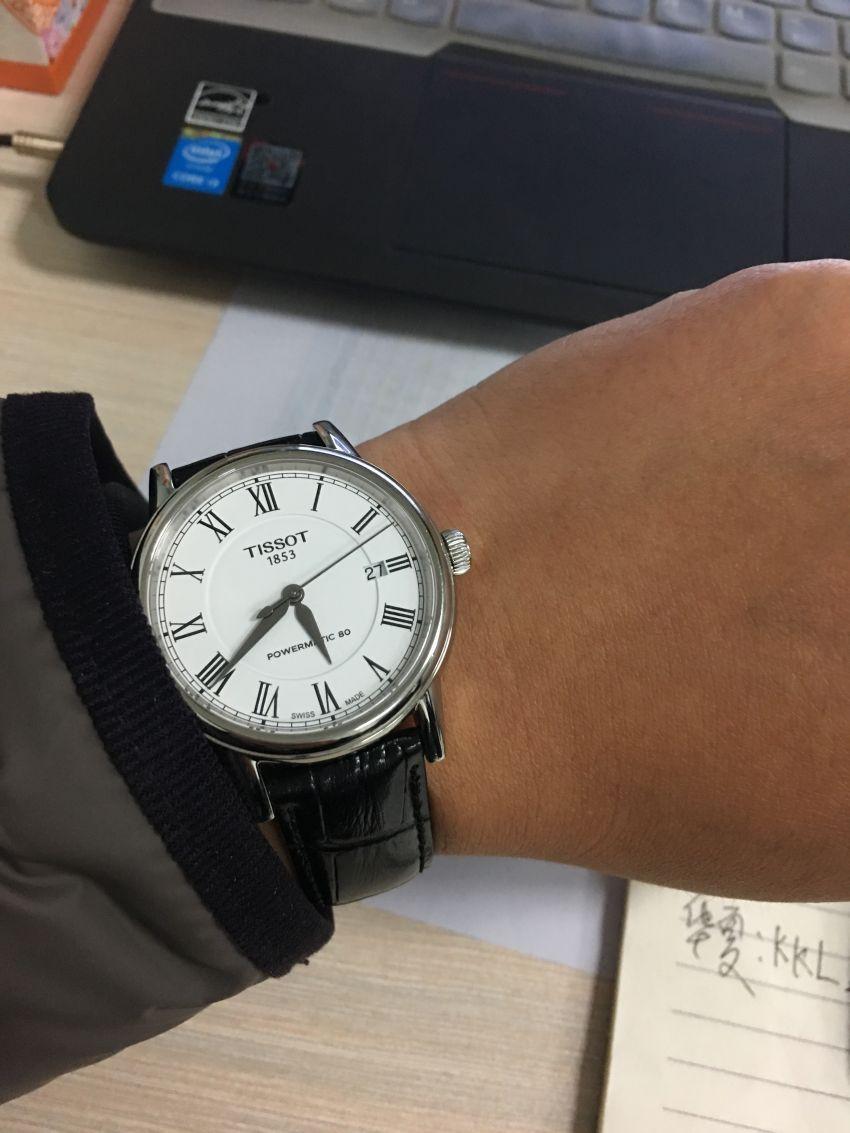 天梭T085.407.16.013.00手表【表友晒单作业】买之前是怀...