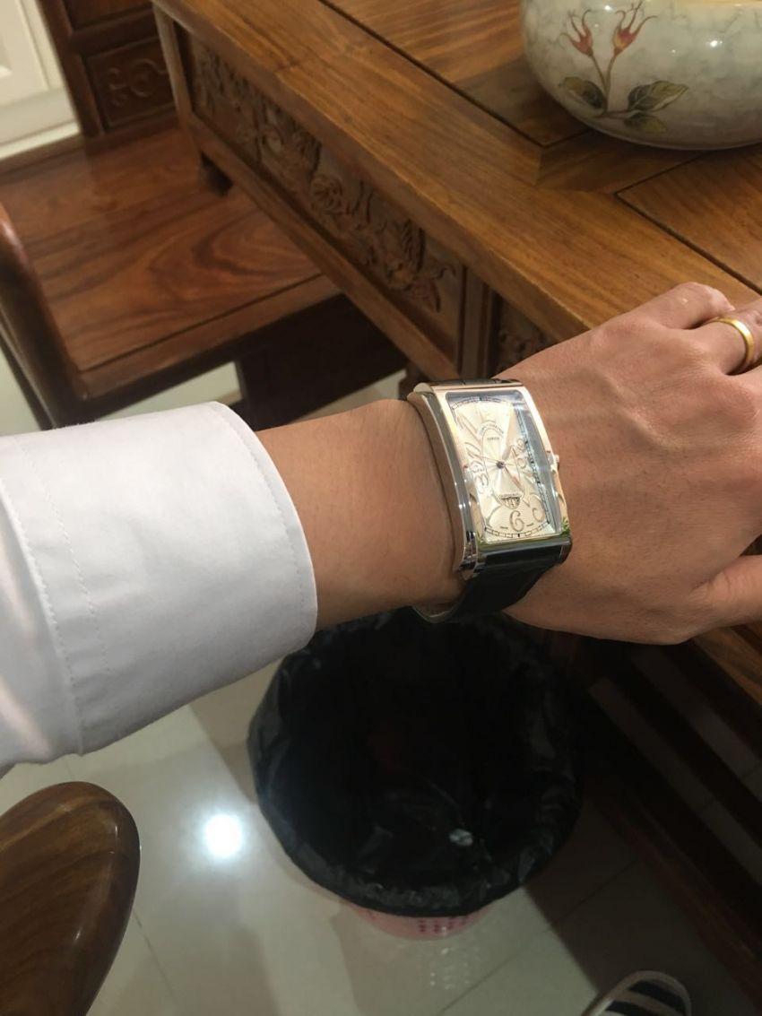 库尔沃1012.1AG手表【表友晒单作业】款式很喜欢...