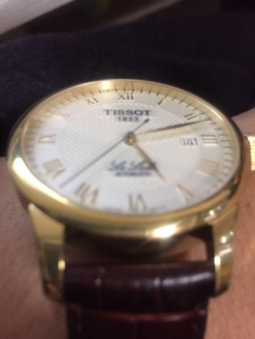 天梭T41.5.413.73手表【表友晒单作业】很不错的一...
