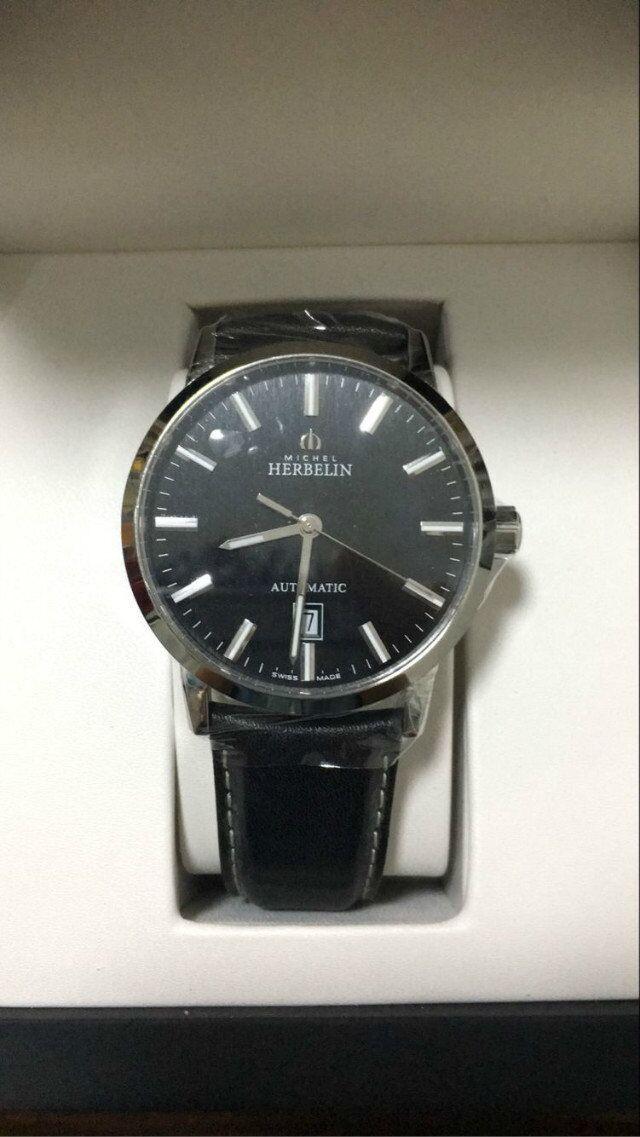 赫柏林1669/14手表【表友晒单作业】表很不错。...