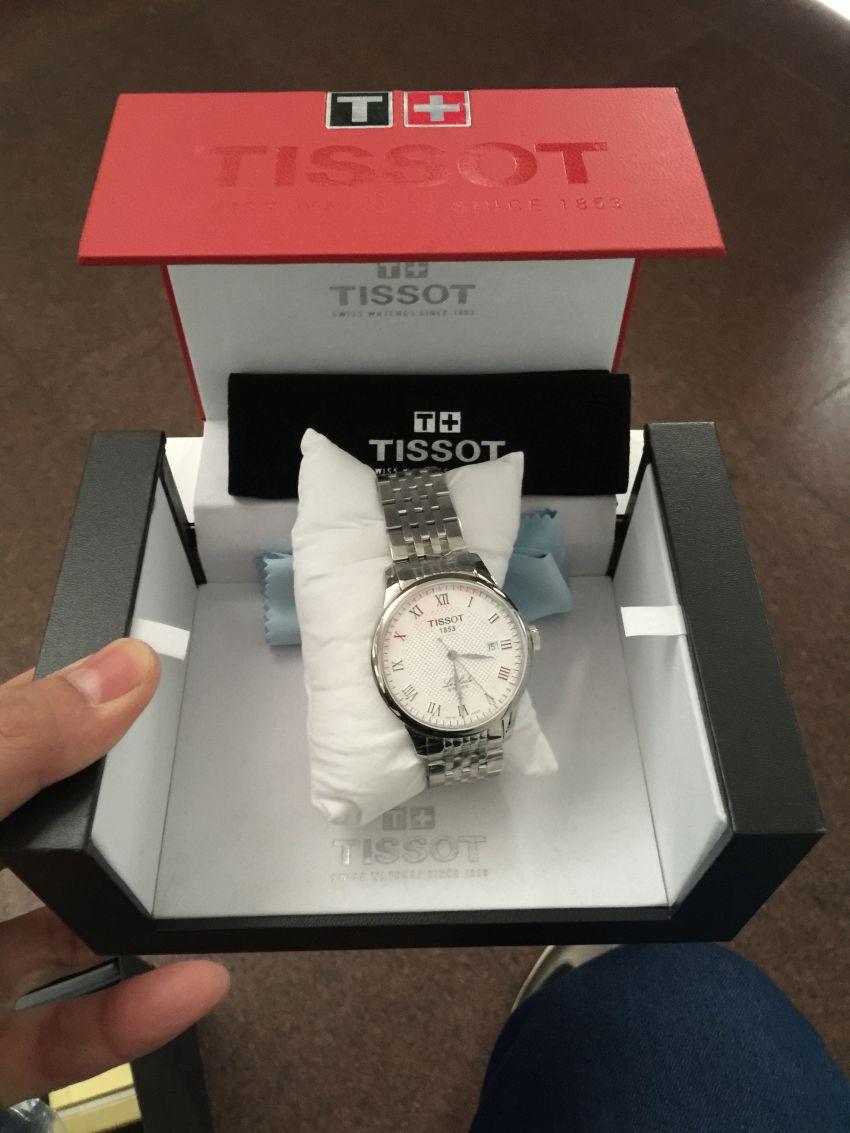 天梭T41.1.483.33手表【表友晒单作业】不错,是正...
