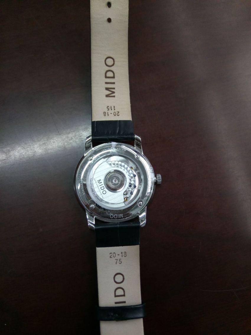 美度M027.407.16.010.00手表【表友晒单作业】非常棒的一...