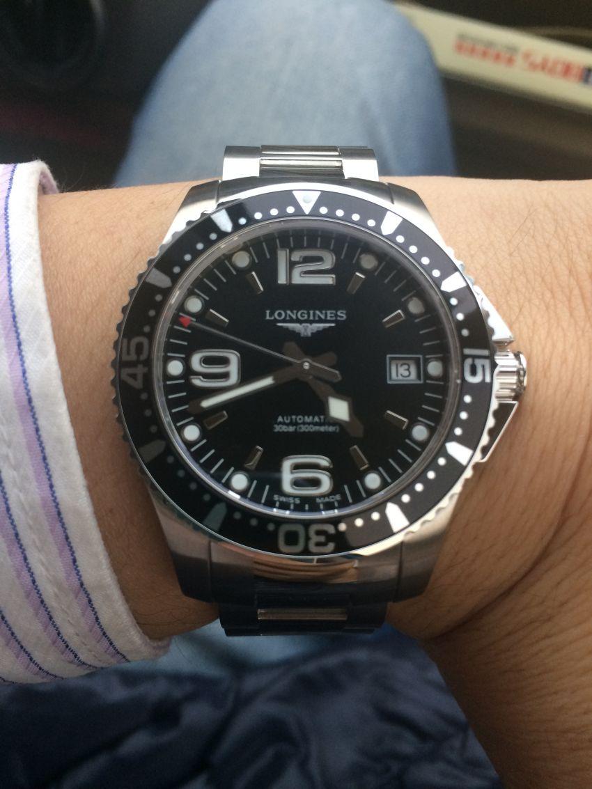 浪琴L3.641.4.56.6手表【表友晒单作业】康卡斯是我...