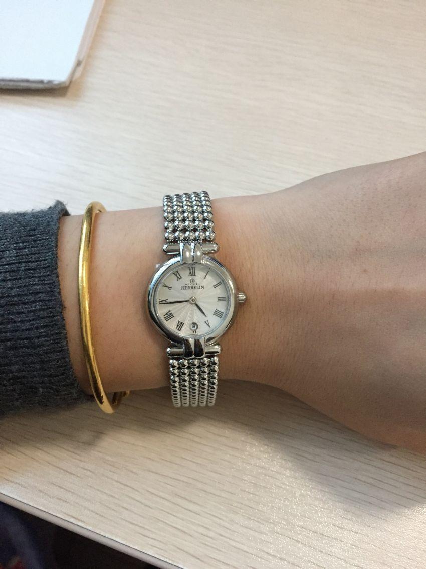赫柏林16873/B08手表【表友晒单作业】手表收到了...