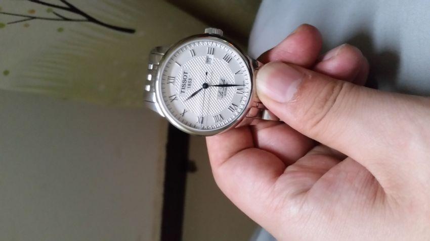 天梭T41.1.483.33手表【表友晒单作业】看着还行,...