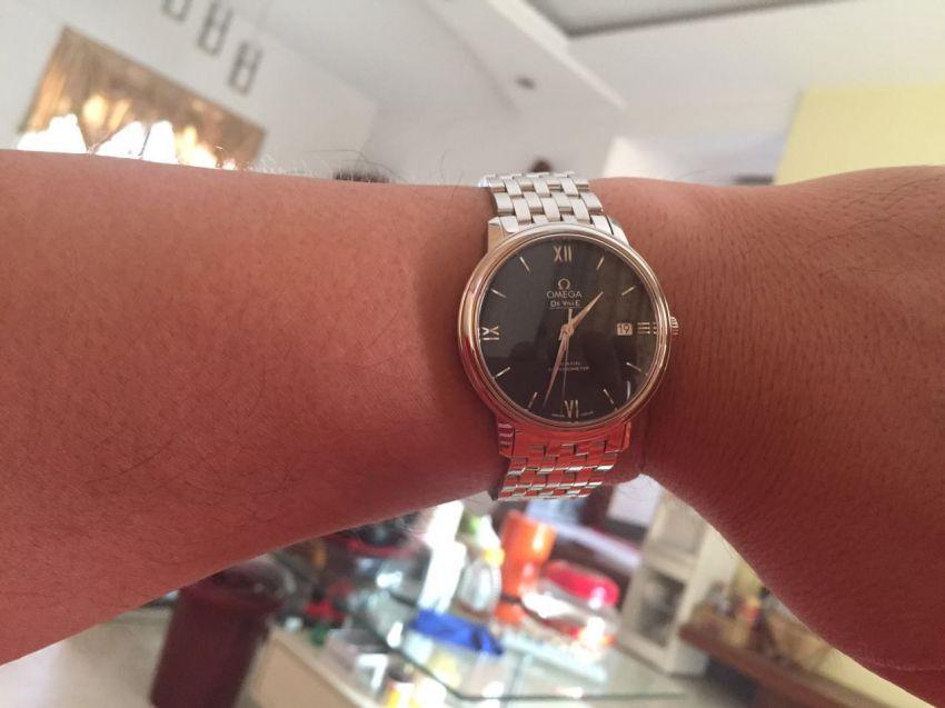 欧米茄424.10.37.20.03.001手表【表友晒单作业】手表收到了...