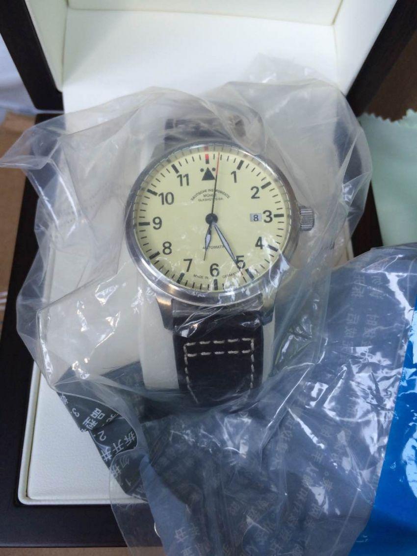 格拉苏蒂·莫勒M1-37-47-LB手表【表友晒单作业】实物跟图片...