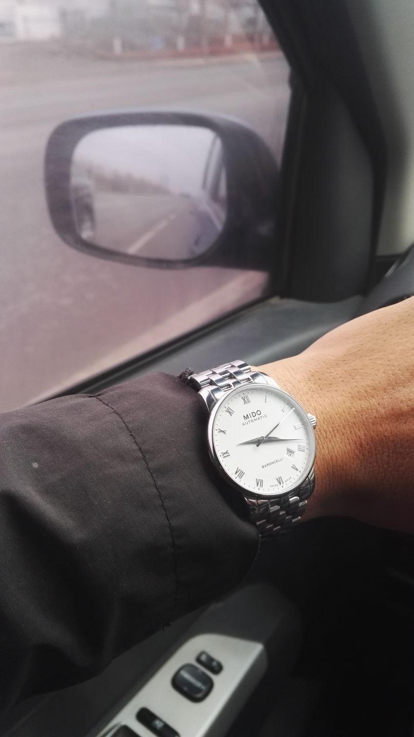 美度M8600.4.26.1手表【表友晒单作业】很大气的一...