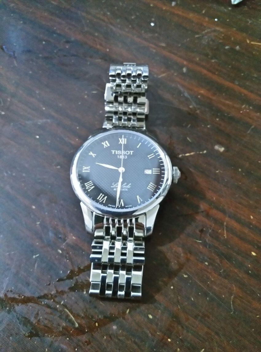 天梭T41.1.483.53手表【表友晒单作业】收到货专门...