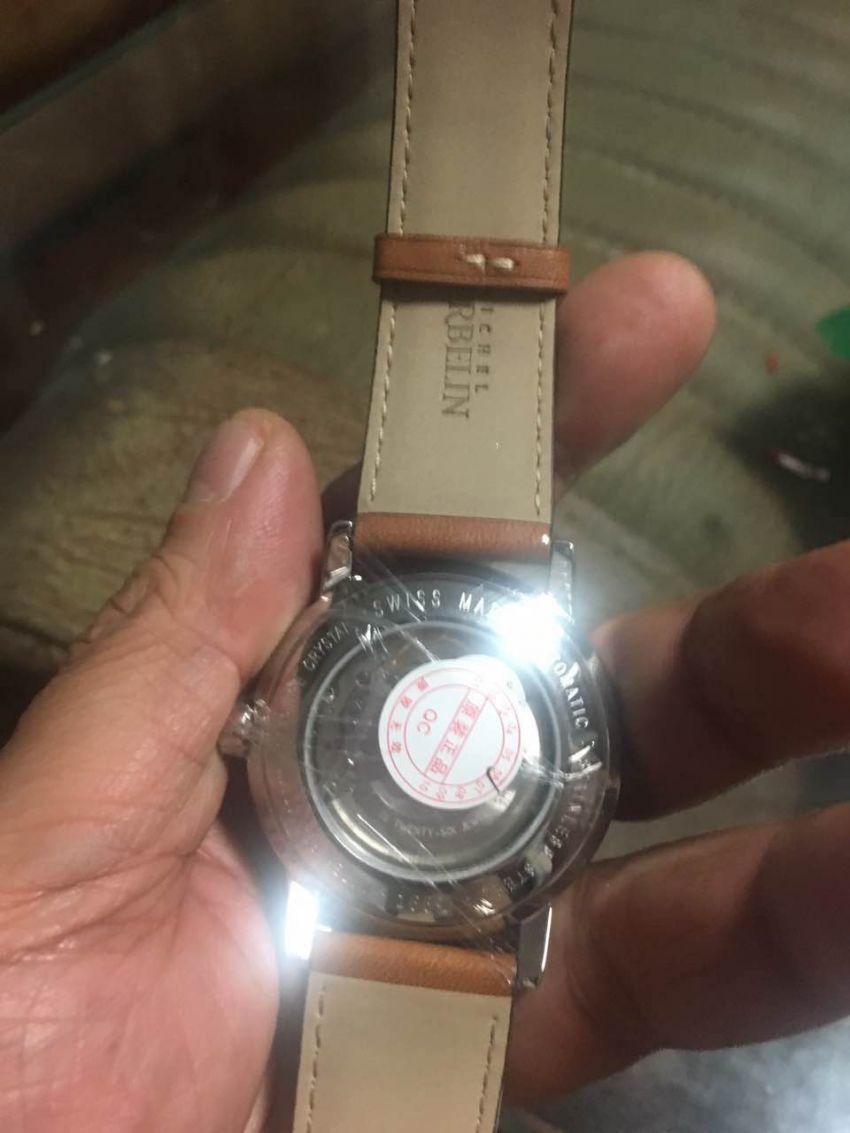 赫柏林1669/07GO手表【表友晒单作业】非常漂亮的...