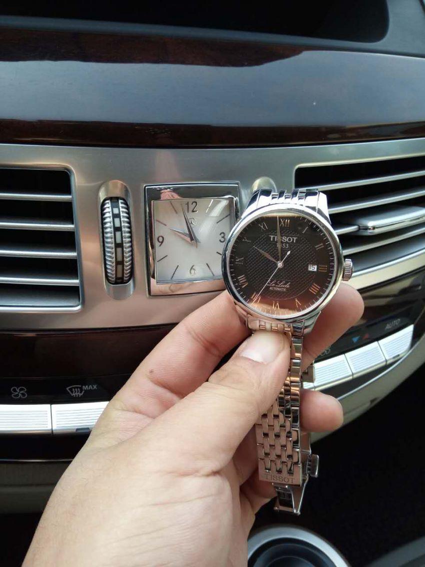 天梭T41.1.483.53手表【表友晒单作业】不错的表,...