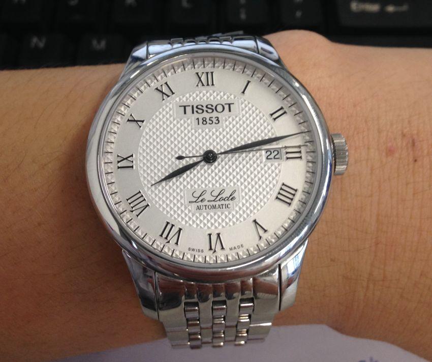 天梭T41.1.483.33手表【表友晒单作业】10号手,...