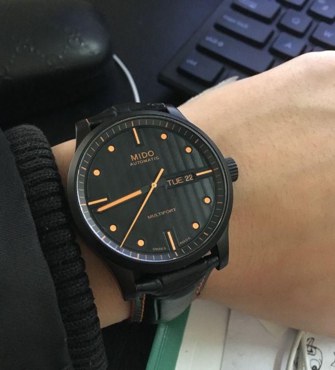 美度M005.430.36.051.80手表【表友晒单作业】一眼看中...