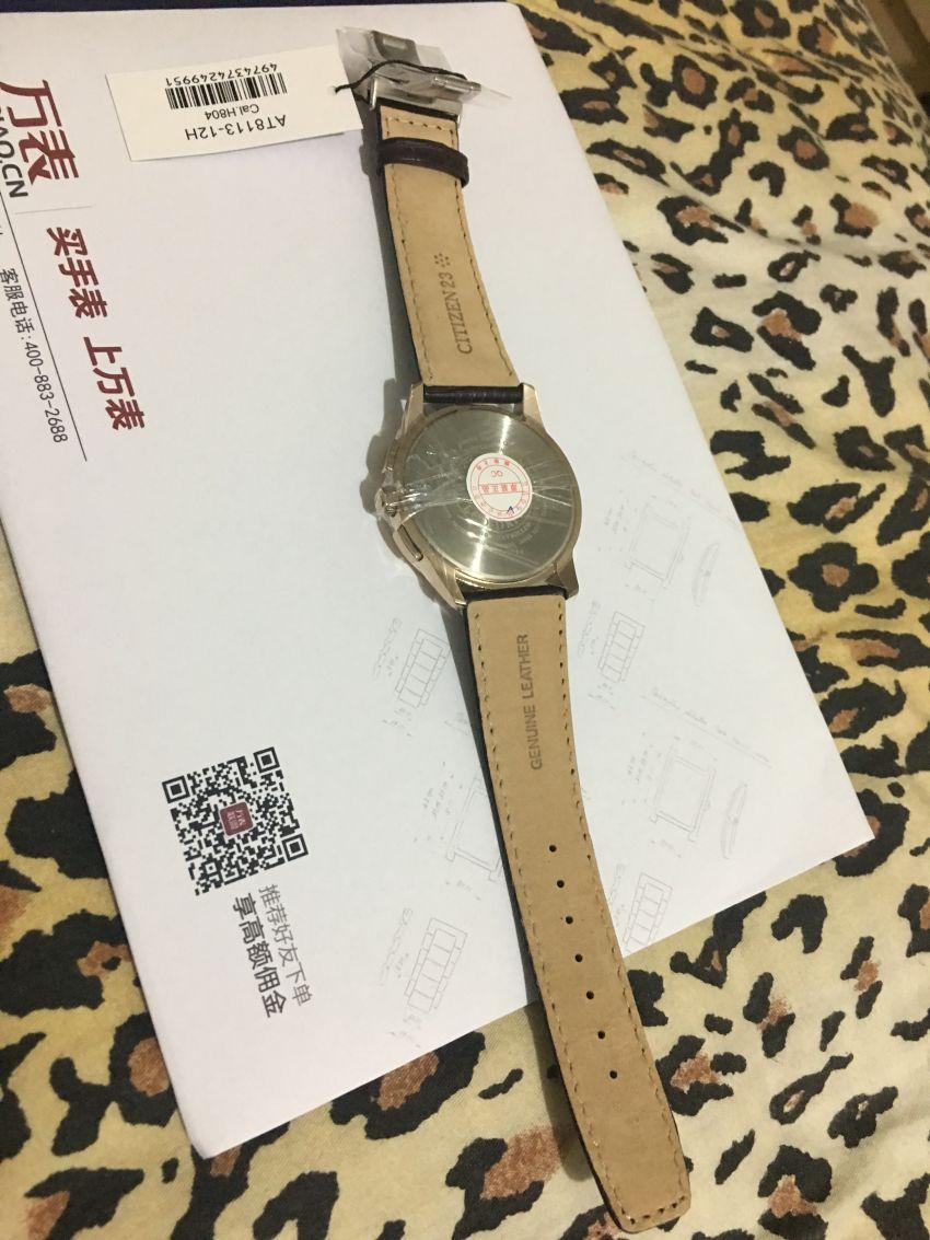 西铁城AT8113-12H手表【表友晒单作业】看着不错,...