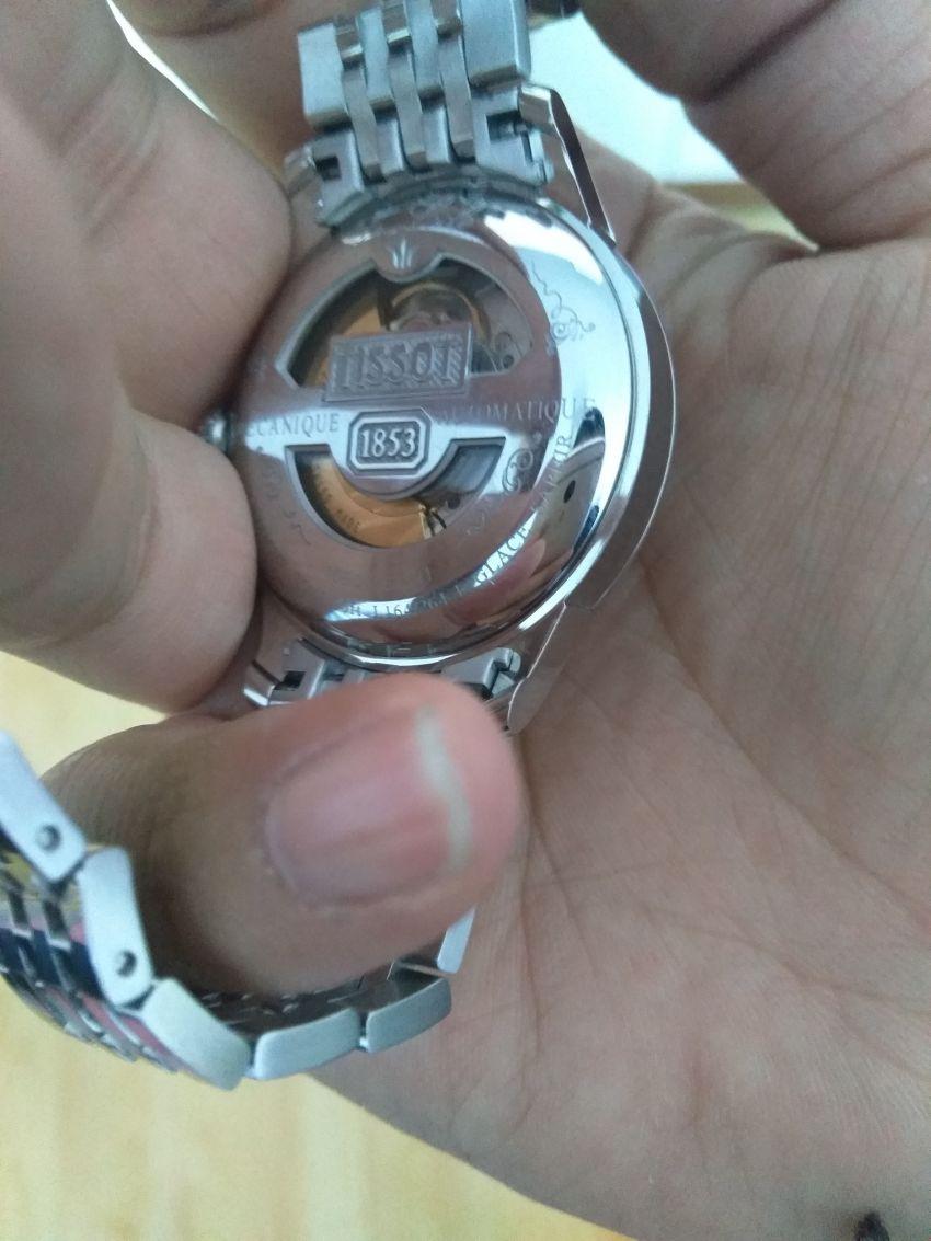 天梭T41.1.483.53手表【表友晒单作业】关注了很久...