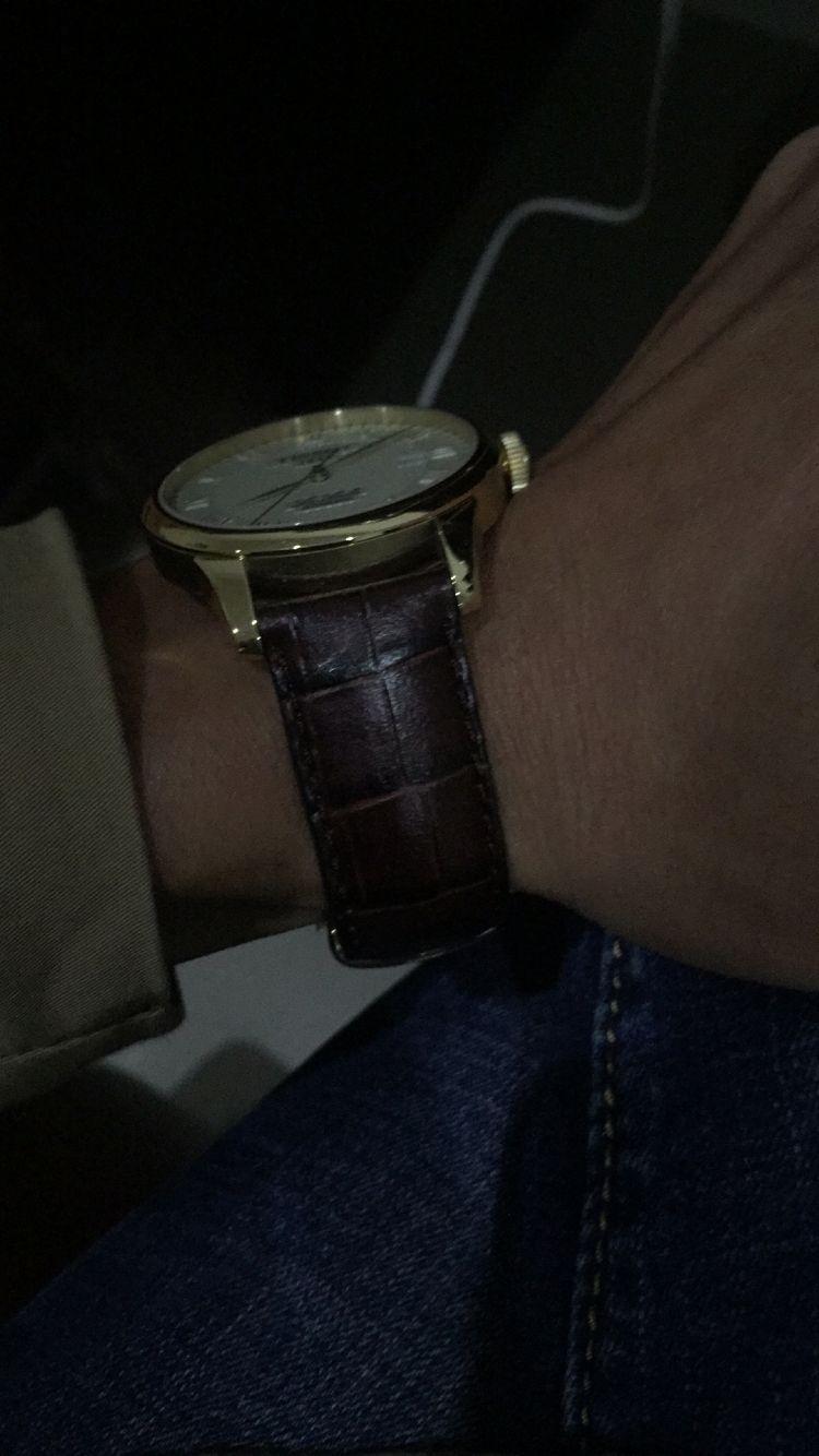 天梭T41.5.413.73手表【表友晒单作业】第一次在万...