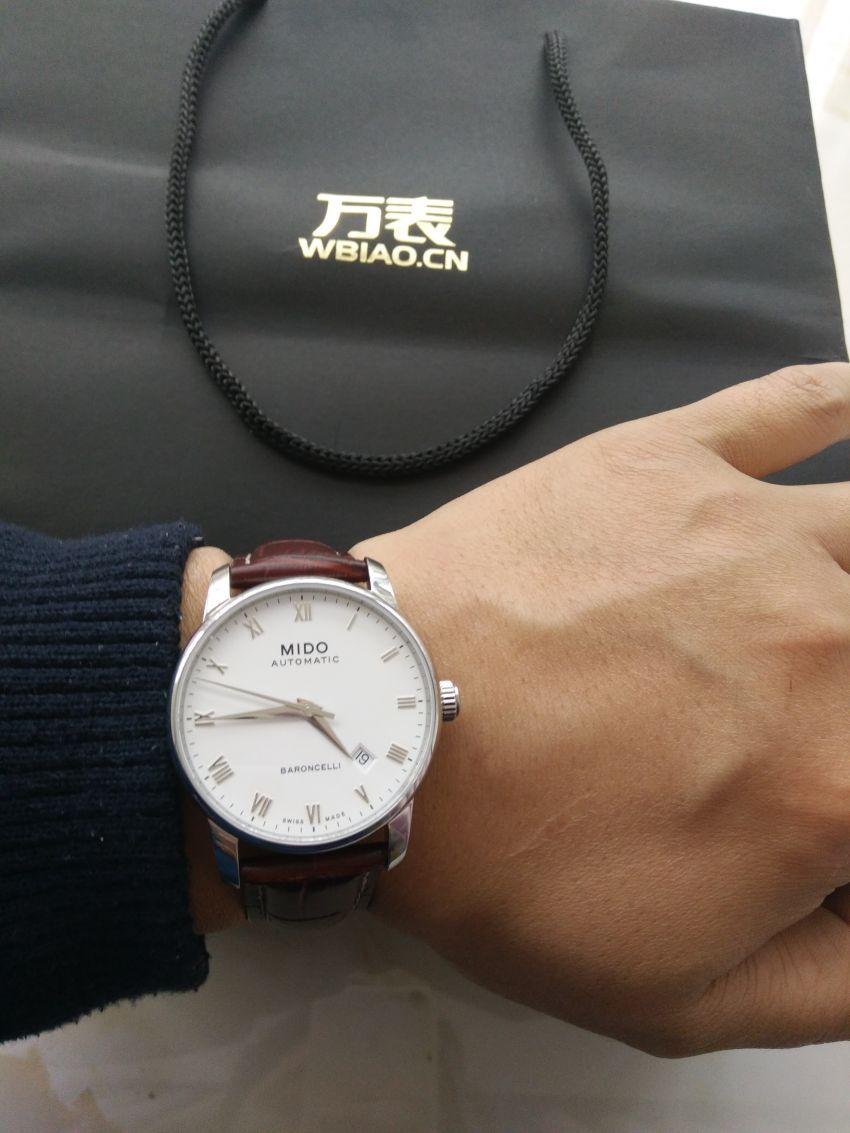 美度M8600.4.26.8手表【表友晒单作业】物流很给力...