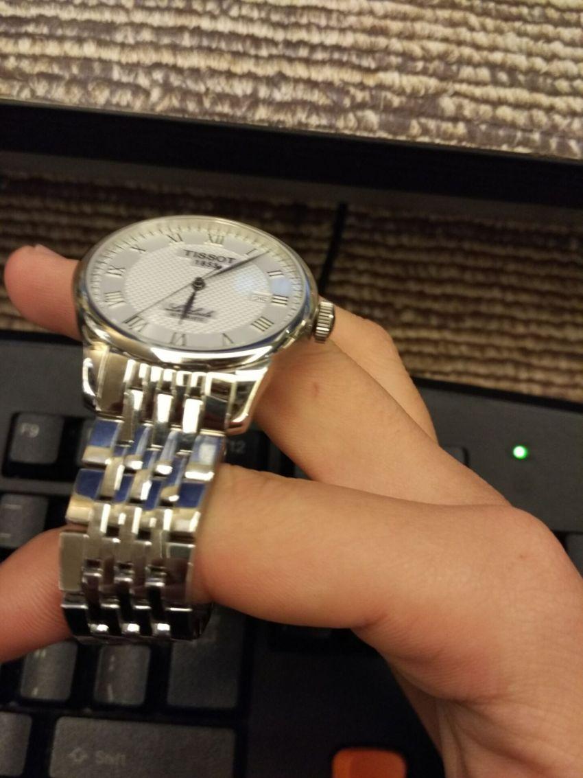 天梭T41.1.483.33手表【表友晒单作业】手表好看...