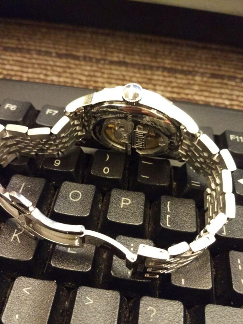天梭T41.1.483.33手表【表友晒单作业】手表精美,...