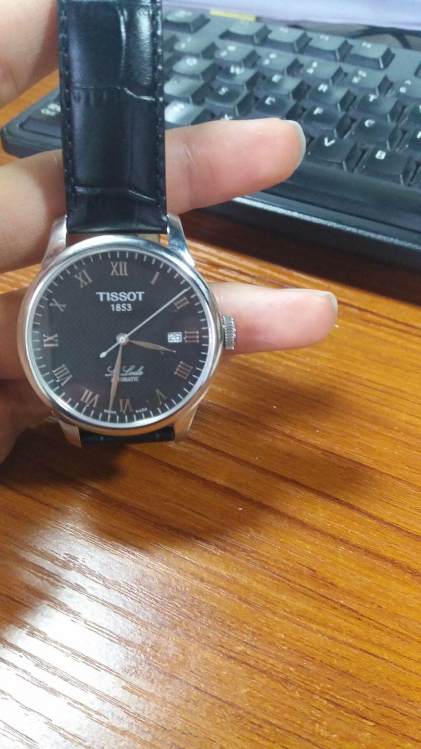 天梭T41.1.423.53手表【表友晒单作业】物流速度给...
