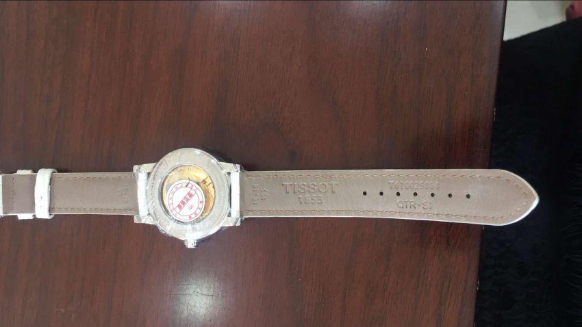 天梭T050.207.16.116.00手表【表友晒单作业】手表非常好...