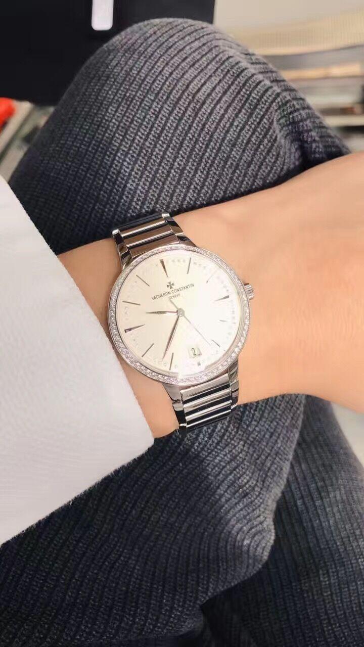 江诗丹顿85515/CA1G-9841手表【表友晒单作业】导购 左左...