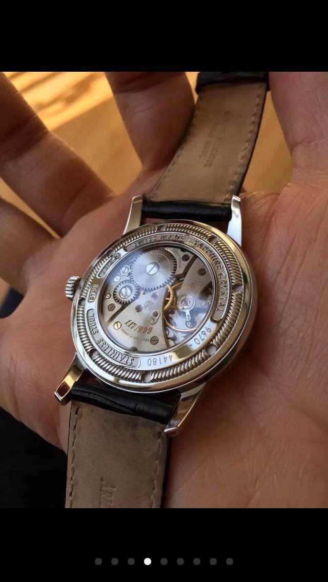 艾美达9670A-AG-P670NR1手表【表友晒单作业】很有底蕴的...