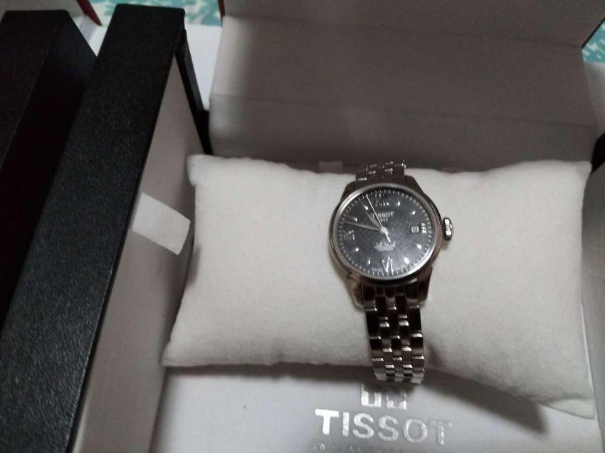 天梭T41.1.183.53手表【表友晒单作业】买了对情侣...