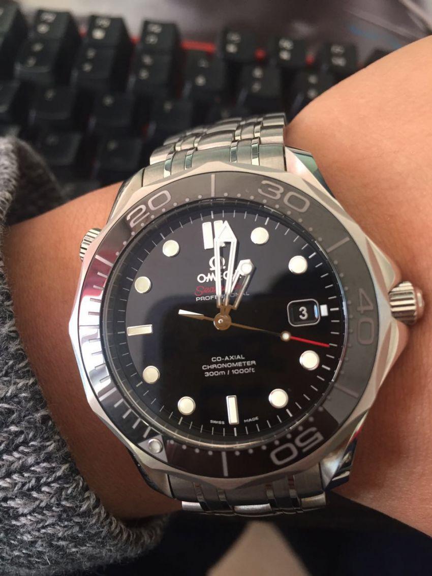 欧米茄212.30.41.20.01.003手表【表友晒单作业】这块表非常...