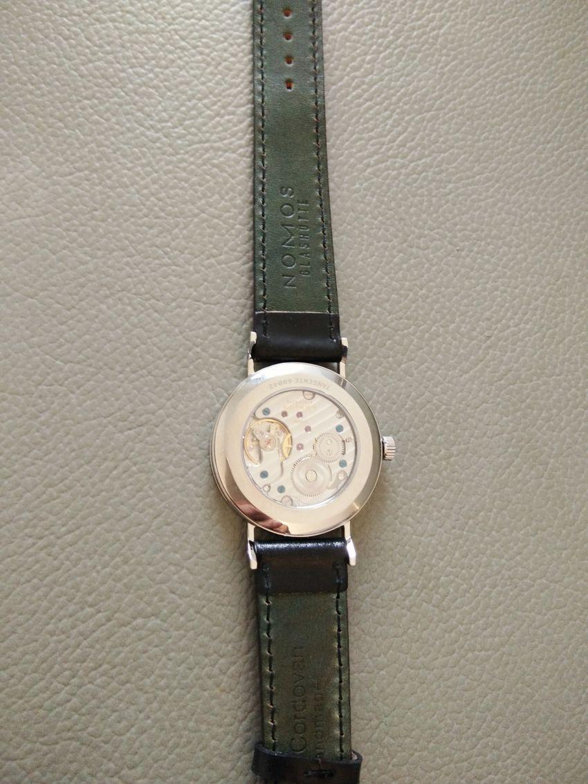 诺莫斯139手表【表友晒单作业】表看起来比...