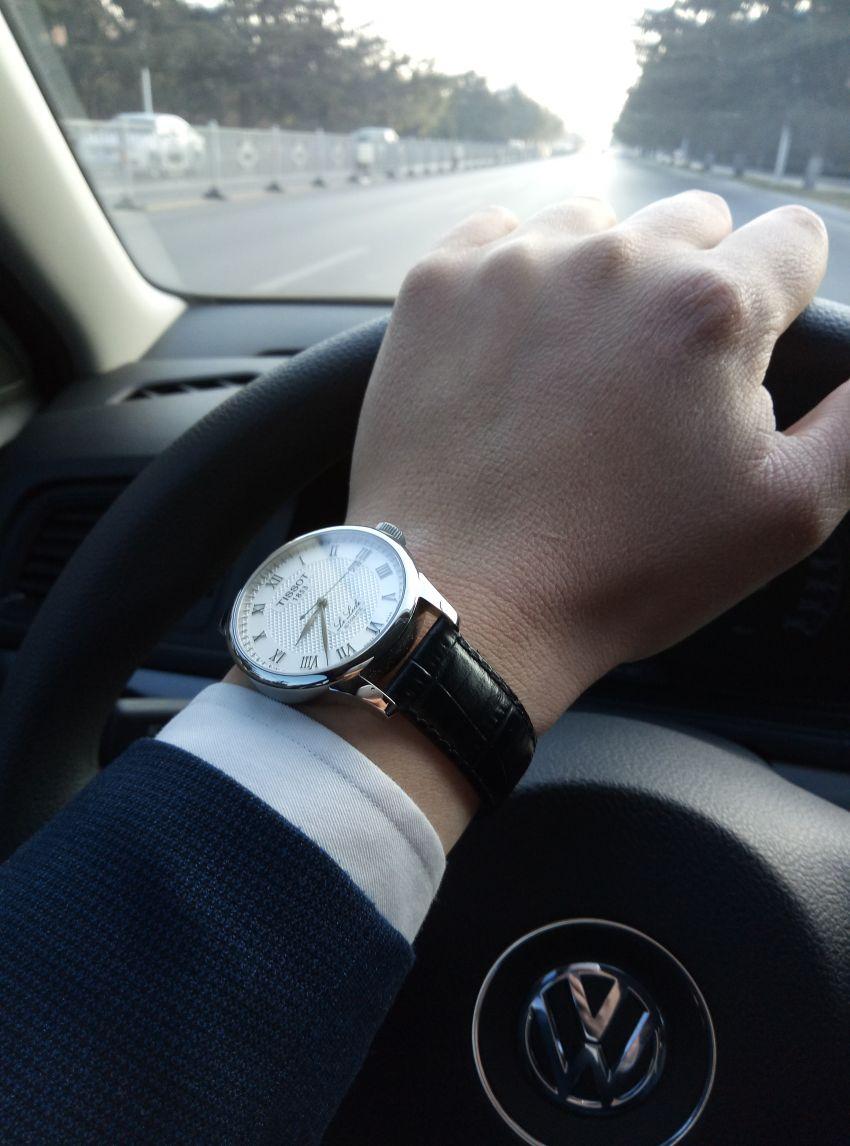 天梭T41.1.423.33手表【表友晒单作业】表还行,就...
