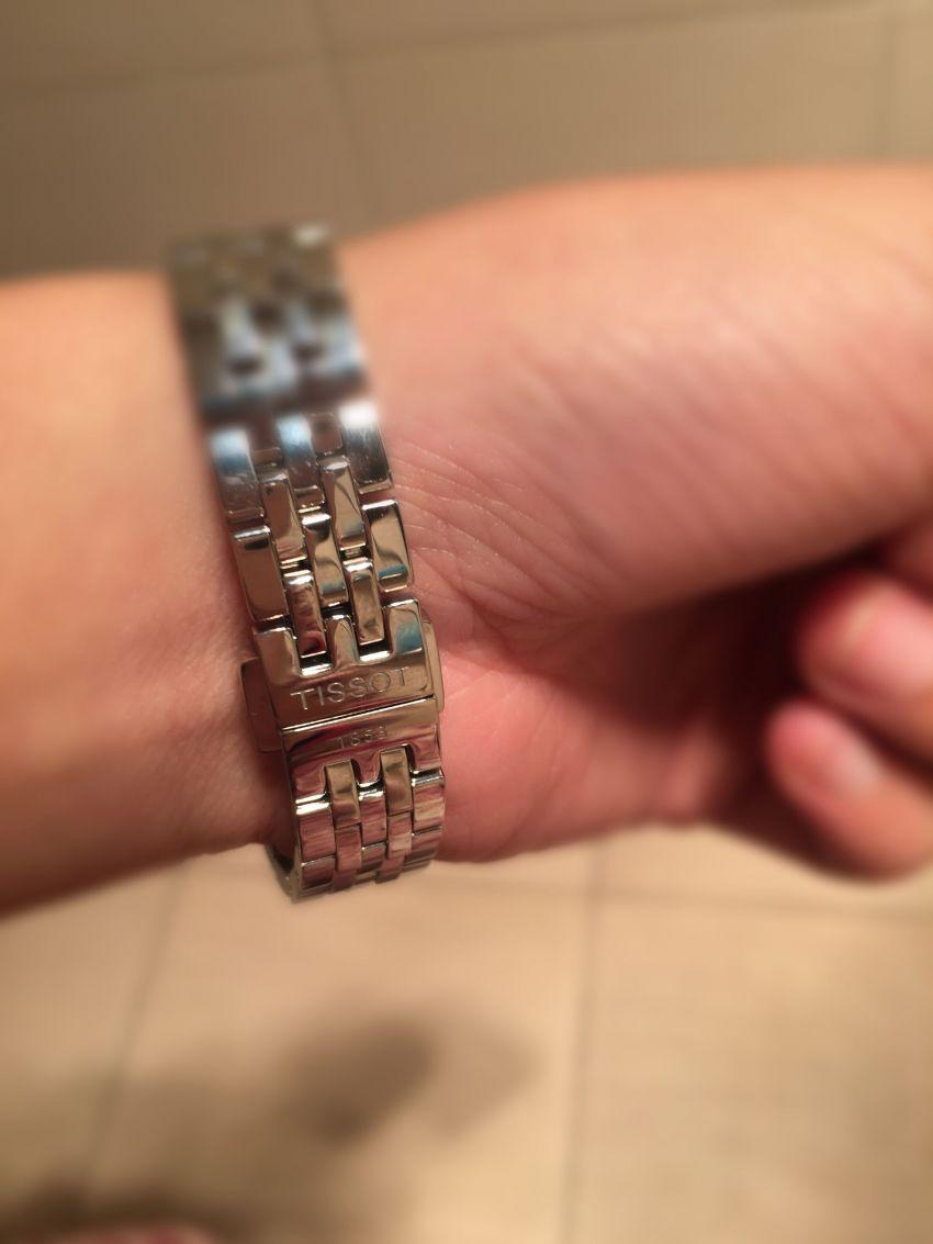 天梭T41.1.183.33手表【表友晒单作业】挺好的,简...