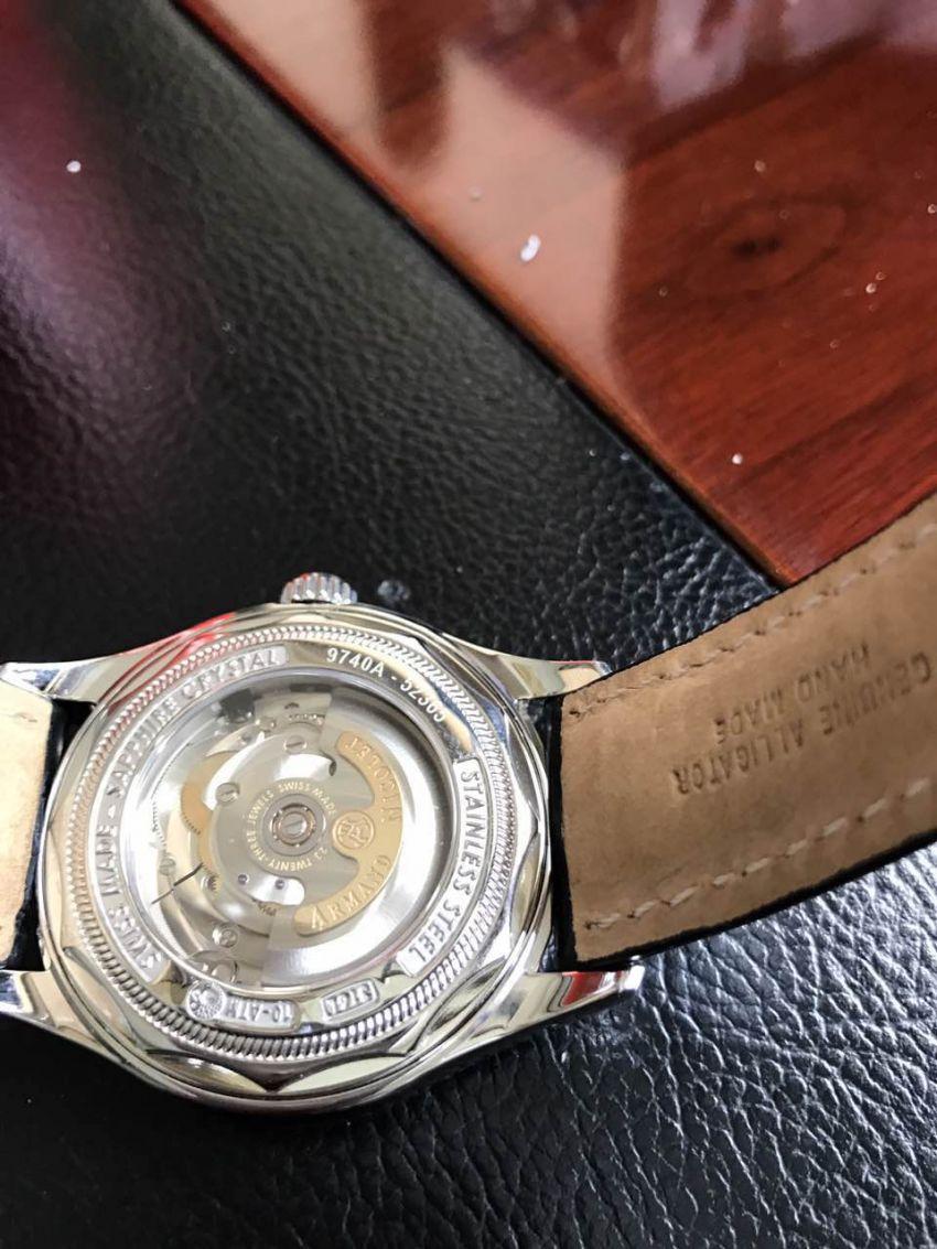 艾美达9740A-NR-P974NR2手表【表友晒单作业】第2天就收...
