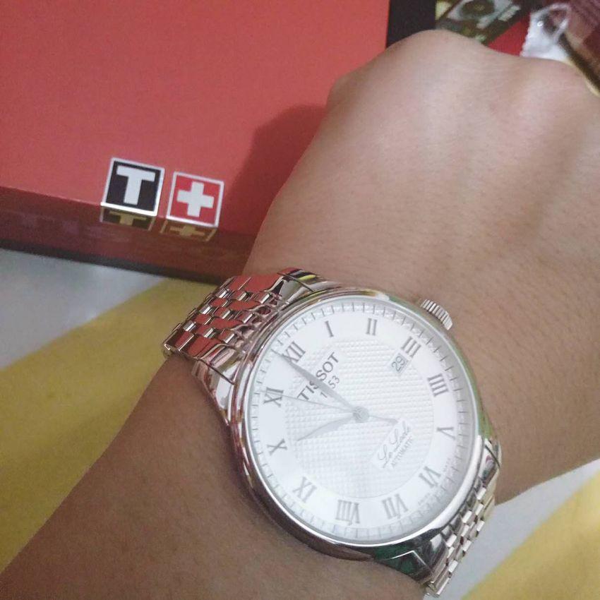 天梭T41.1.483.33手表【表友晒单作业】收到手表很...