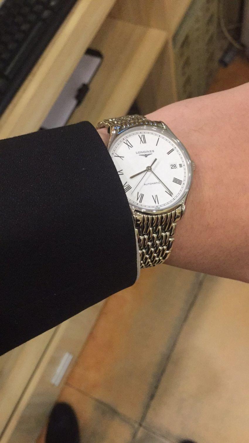 浪琴L4.860.4.11.6手表【表友晒单作业】戴了很多天...
