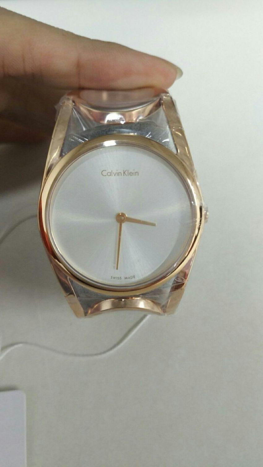 CKK5U2S646手表【表友晒单作业】CK手表的...
