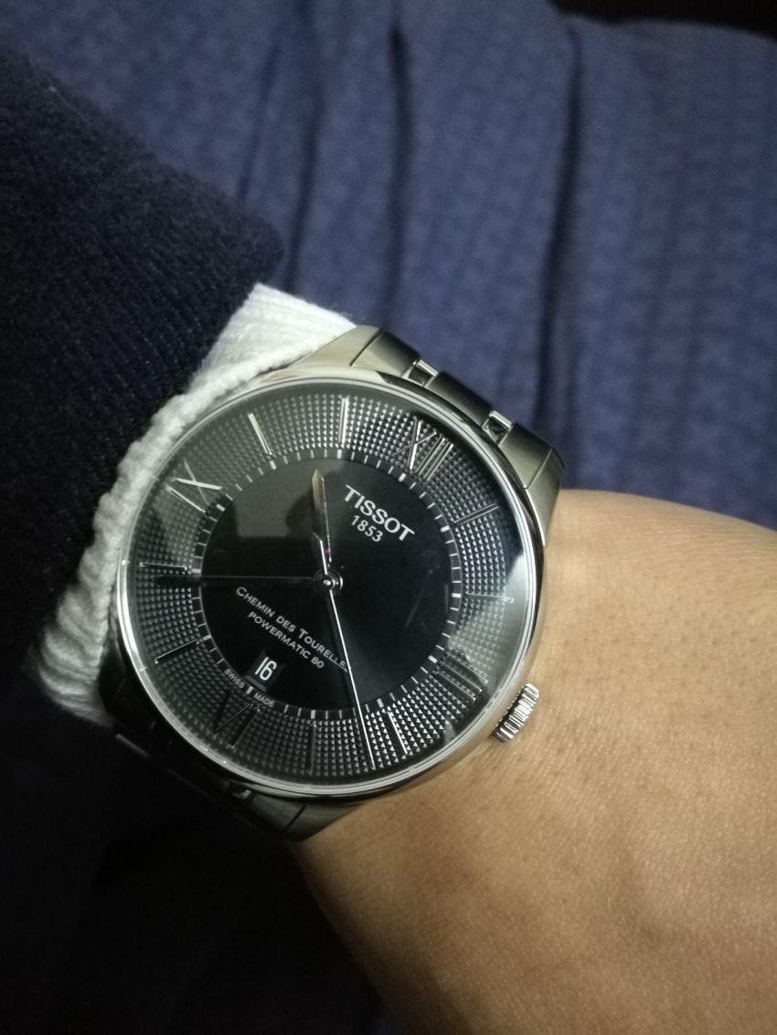 天梭T099.407.11.058.00手表【表友晒单作业】表挺好的,...